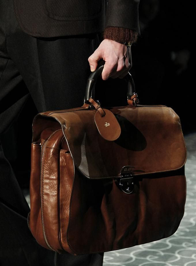 COOL CHIC STYLE to dress italian: Gucci men's bag fall 2011