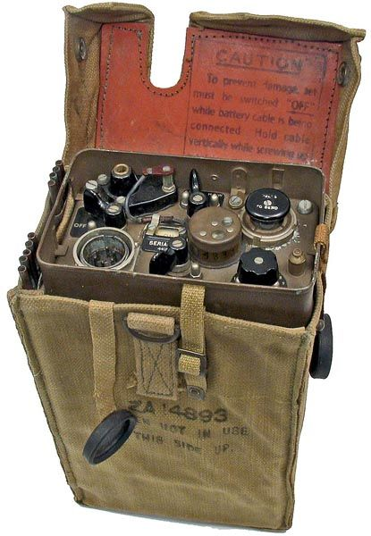 Wireless Set No 46 Was A Man Pack Transceiver Developed