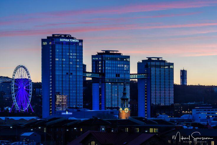 2 December 2016. Gothia Towers Göteborg Sweden. #mikaelsvenssonphotography #swedenimages  #thebestofscandinavia #sweden_photolovers #ig_mood #ig_masterpiece #visitsweden #superb_photos #nikonpro #igersgothenburg #ig_week_scandinavia #visitgothenburg #mittgöteborg #goteborgcom #sweden #thisisgbg #sunrise_sunsets_aroundworld #smugmug #gothiatowers