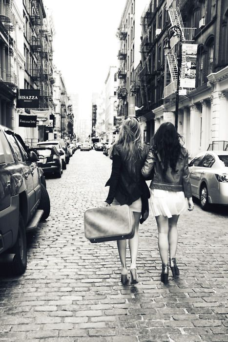 Best friendsBig Cities, Best Friends, Bestfriends, Cities Street, Friendship, The Cities, Cities Life, Travel, Photography
