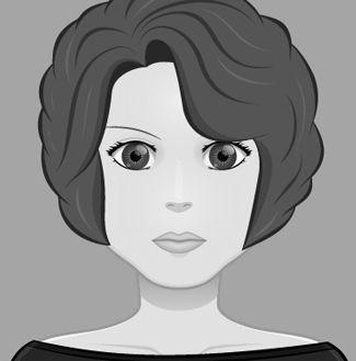 Esta es Anna Dalmau, la pérfida madre de Caterina, una de las malas de El Hilo Rojo. Para saber más del personaje http://www.olgadellera.com/personajes-el-hilo-rojo/