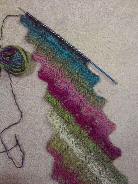 Noro Aya: cassiebari's argosy, free scarf pattern on Ravelry | REPINNED