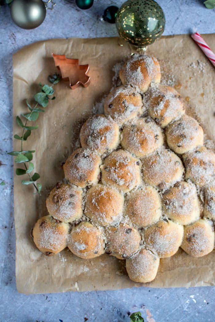 Brötchen Tannenbaum.Schoko Brötchen Als Churro Tannenbaum Rezept Backen Muffins