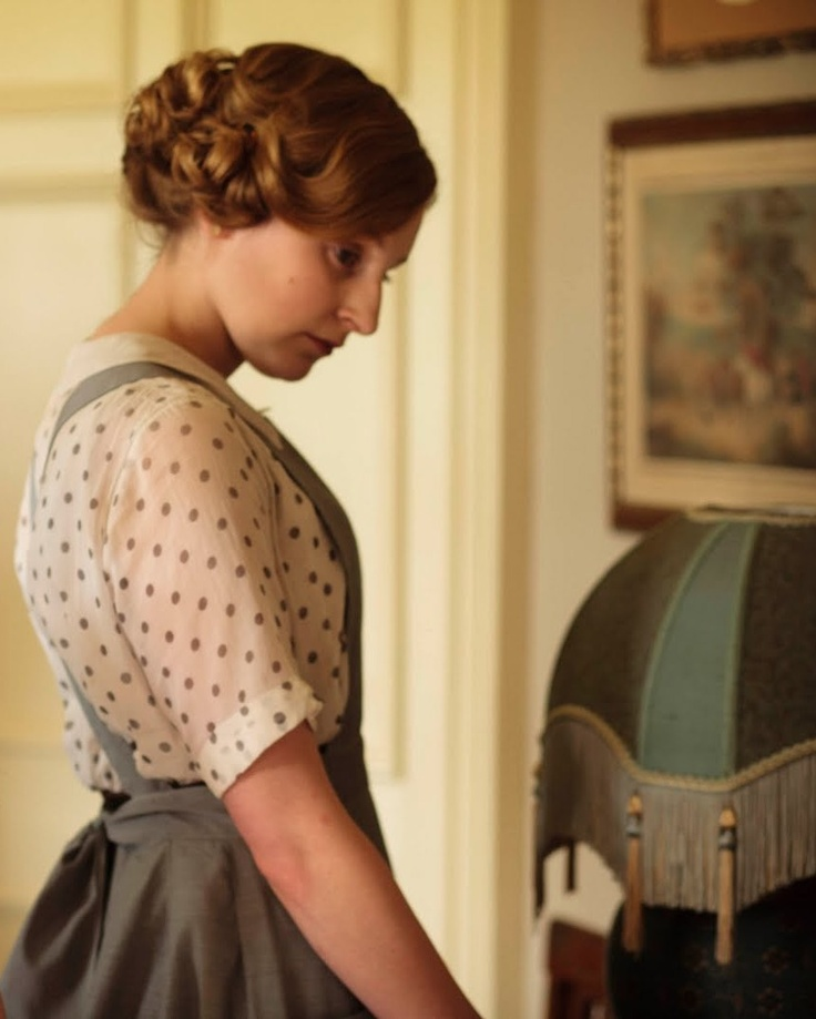 """Edith is as mysterious as a bucket."" - Lady Mary Downton Abbey, Edith."