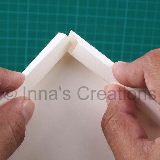 Inna's Creations: How to make a simple paper frame