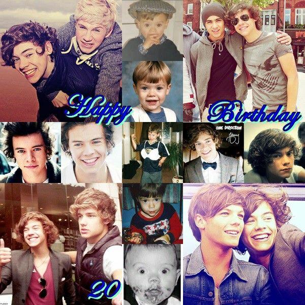 Happy Birthday #20 #HarryStyles #Old