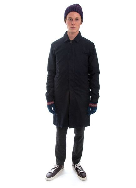 Welter Shelter FW15 Long Dong navy wool