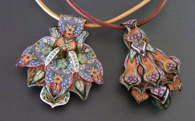 Petal Pendants by Jana Roberts Benzon, via Flickr