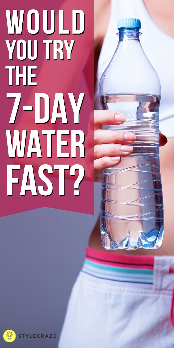 Water Fasting: Benefits and Dangers