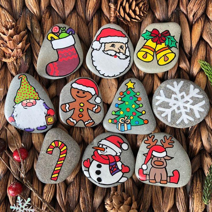 Weihnachtsgeschichte Steine, Montessori Spielzeug, Geschenk für Kleinkind, 3 Jahre altes Spielzeug, Weihnachtsgeschichte, Geschichtenerzählen, sensorisches Spielzeug, Story Rocks für Kinder   – Basteln