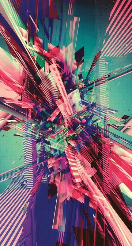 Colourful abstract art #C4D #tutorial