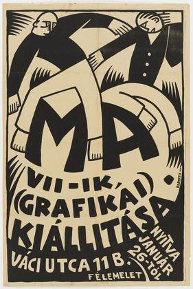 Hungarian Graphic Design/Art 1920s-1940s – Sándor Bortnyik