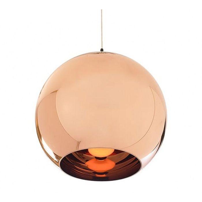Lámpara HUGO-40CO, colgante, cristal, color cobre - Comprar en tienda online de venta por Internet