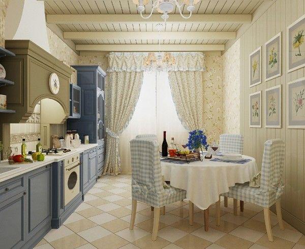 кухня столовая прованс