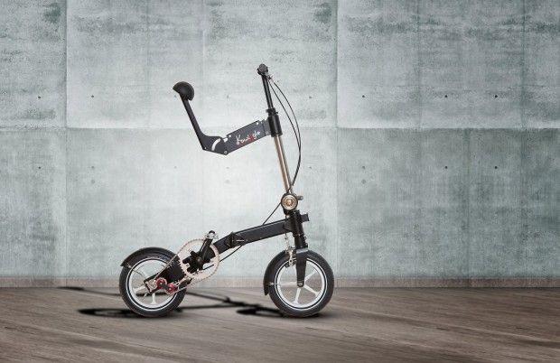 Imaginé et conçu comme le vélo pliable le plus compact au monde ! Le Kwiggle-bike