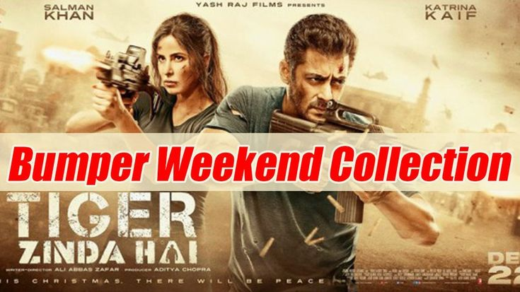Tiger Zinda Hai First Weekend Collection: Salman Khan, Katrina Kaif crossed 100 crore | FilmiBeat Salman Khan has taken the box-office by storm with his latest release Tiger Zinda Hai, which hit the theatres on Friday, December 22. The movie made Rs 34.10 crore on its first day. On the...