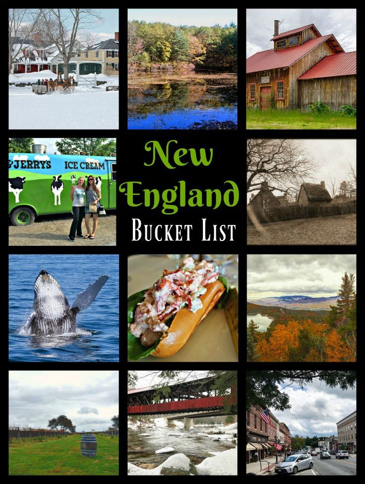 47 Fabulous Things to Put on Your New England Bucket List!- The Daily Adventures of Me