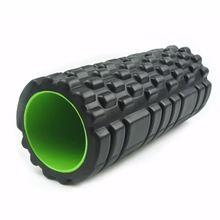 Yoga Pilates Foam Roller 34x14 EVA Crossfit Foam Muscle Massage Roller Home Gym Fitness Equipment rolo massagem sport tools //Price: $US $21.87 & FREE Shipping //