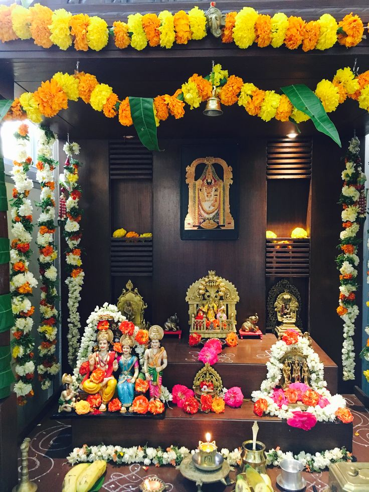 The 344 Best Images About Puja Decorations On Pinterest