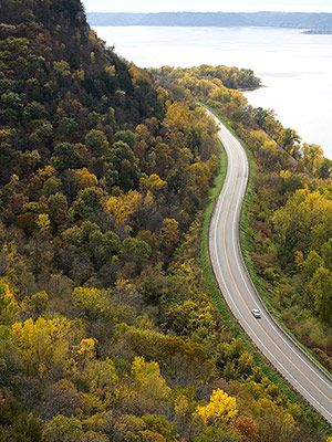 Stockholm, Wisconsin - Great River Road (Mississippi River)
