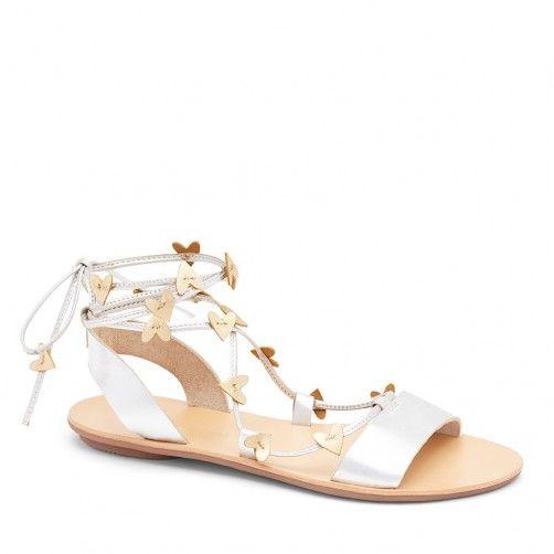 Heartla Ankle Wrap Sandal