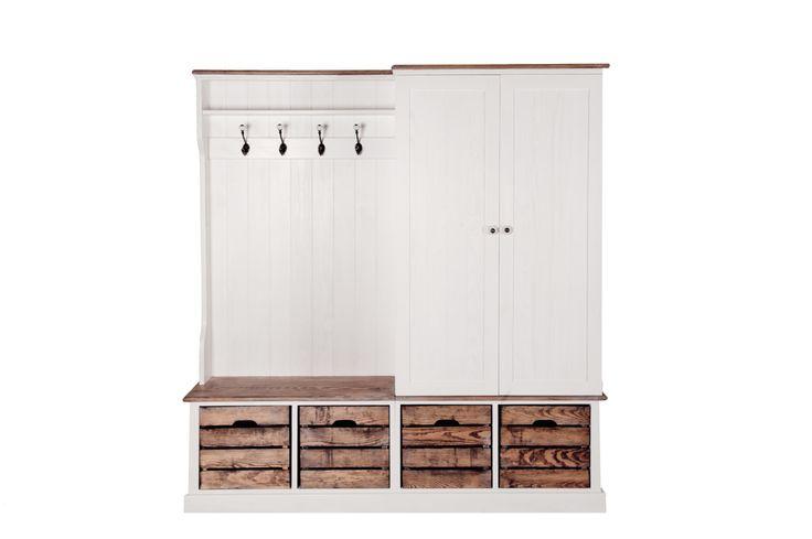 Provence wardrobe made of solid pine wood #provence #provencewardrobe #wardrobe #woodenwardrobe #wood #solidwood #scandinavianstyle #scandinavian #whitewardrobe #white
