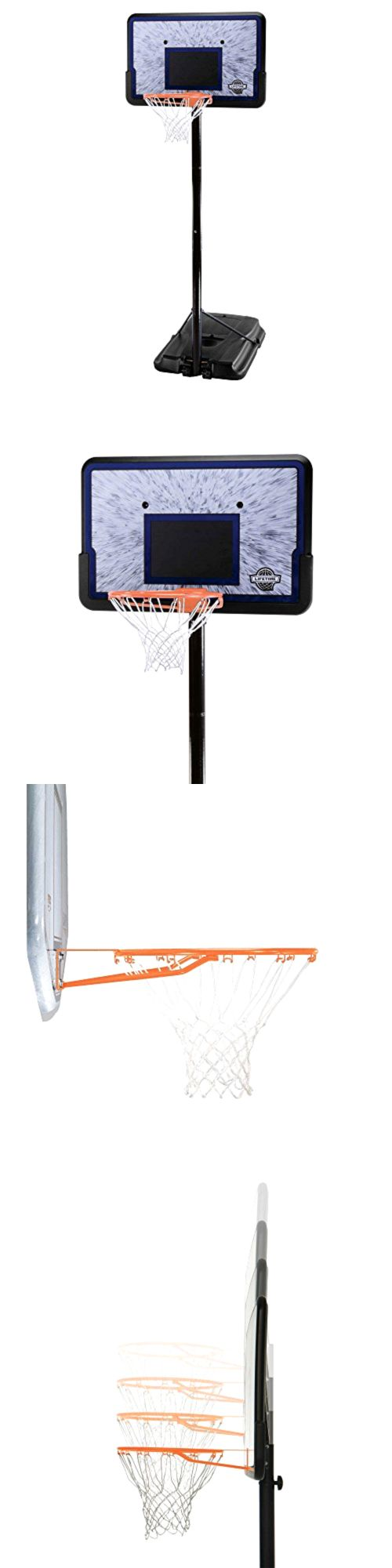 Backboard Systems 21196: Adjustable Portable Basketball System 44 Inch Backboard Pro Court Height -> BUY IT NOW ONLY: $122.09 on eBay!