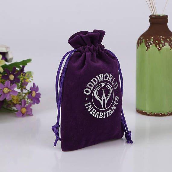 50 jewelry bags custom drawstring bags jewellery packaging
