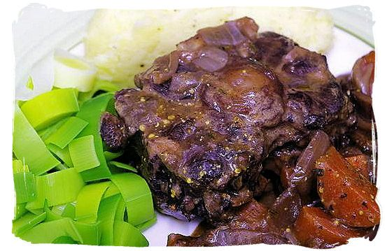 Braised oxtail - South African food adventure, South Africa food