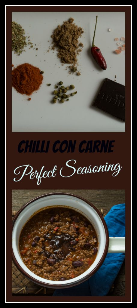 The perfect seasoning for a delicious homemade chilli con carne, served with…