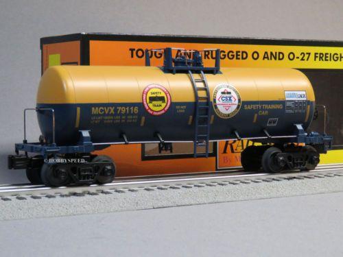 MTH-RAIL-KING-CSX-MODERN-TANK-CAR-79116-o-gauge-train-fuel-oil-30-73447-NEW