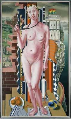"""""""Ariadne"""", 1926 / Carel Willink (1900-1983) / Private Collection"""