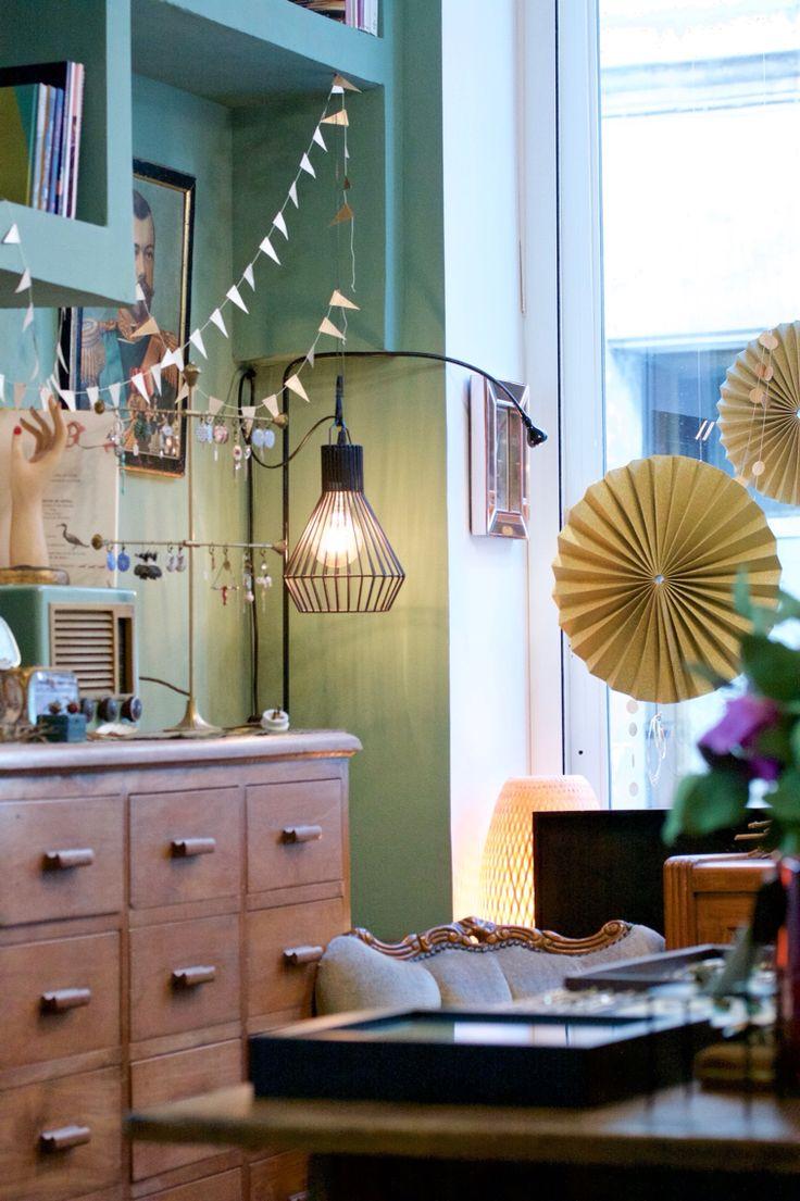 Ambiance dans l'atelier-Boutique des bijoux Dame Pivoine