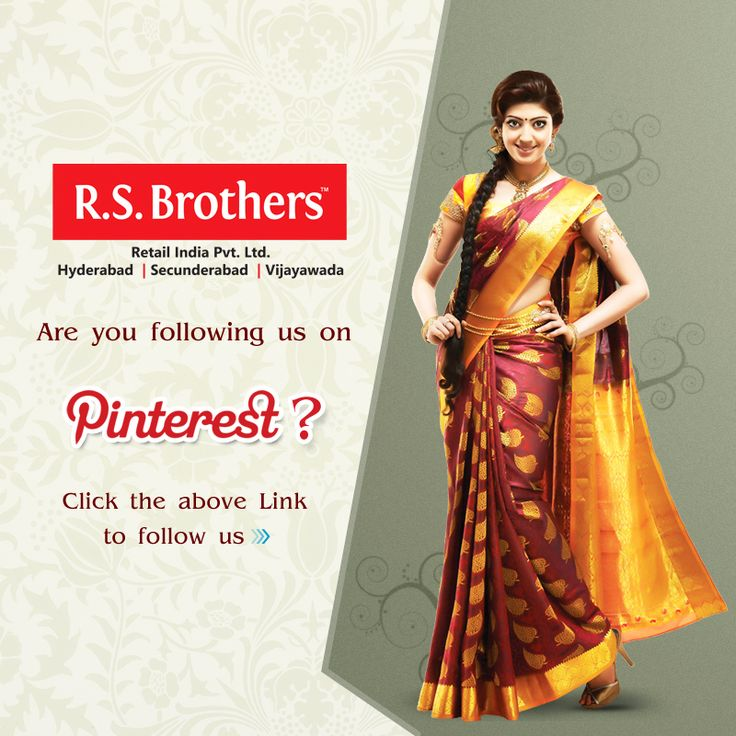 Are you following #R.S.Brothers on Pinterest? If not! Just click this link to follow us - www.pinterest.com/rsbros/