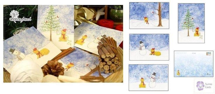 Cute dog puppy. Merry Christmas Happy New Year. | eBay!