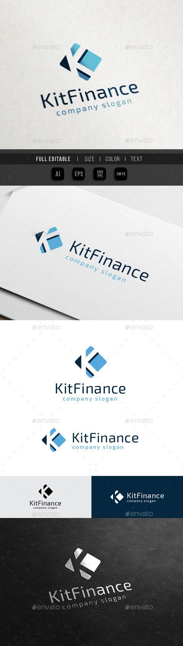 Finance Marketing  Letter K — Vector EPS #website #media • Available here → https://graphicriver.net/item/finance-marketing-letter-k/10564055?ref=pxcr
