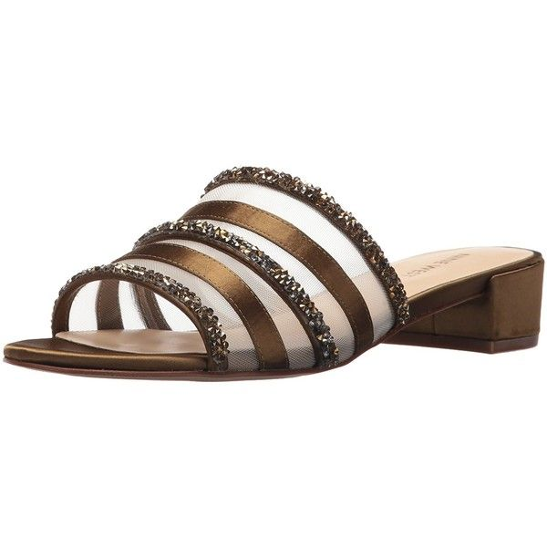 Nine West Women's Raetruda Synthetic Sandal ❤ liked on Polyvore featuring shoes, sandals, faux shoes, wide fit shoes, nine west shoes, wide sandals and wide fit sandals