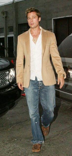 Brad Pitt | between two cars