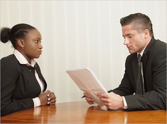 A job interview is not supposed to be one-sided. In order to portray yourself successfully during an interview, you have to ask the important questions and show you've done your research into the company. However, you have to make sure that the questions you ask aren't bland or give off the wrong impression. John VanderSande, a consultant at Waltham staffing firm Winter, Wyman, provides the following advice as to what questions to ask - and what to avoid - during a job interview.