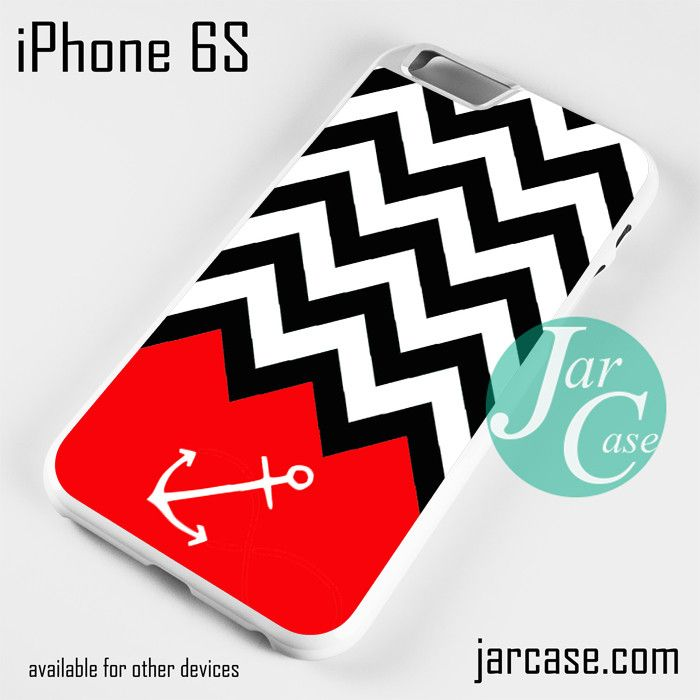 Black White Chevron Red Anchor Phone case for iPhone 6/6S/6 Plus/6S plus