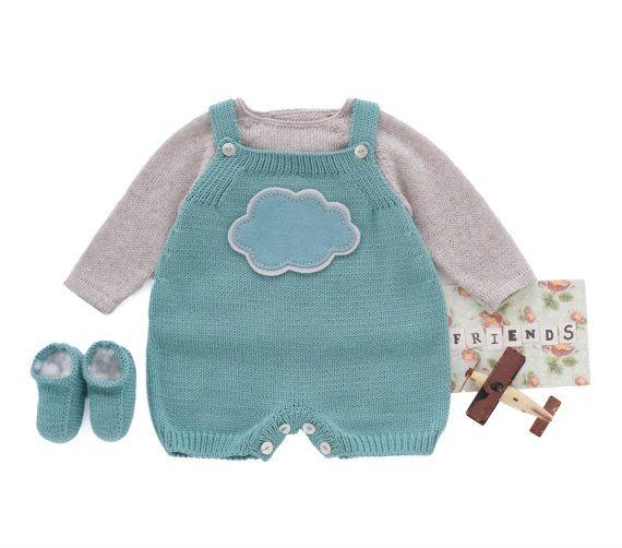 Tuta+bambino+maglia+pagliaccetto+del+bambino+tuta+di+tenderblue