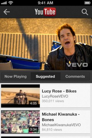 YouTube's official iPhone app lands with more videos, sharing,andads