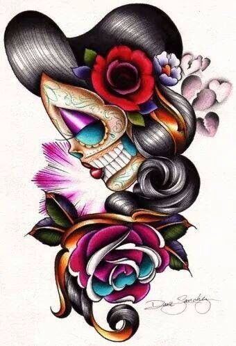 Day of the Dead meets Rockabilly!!!