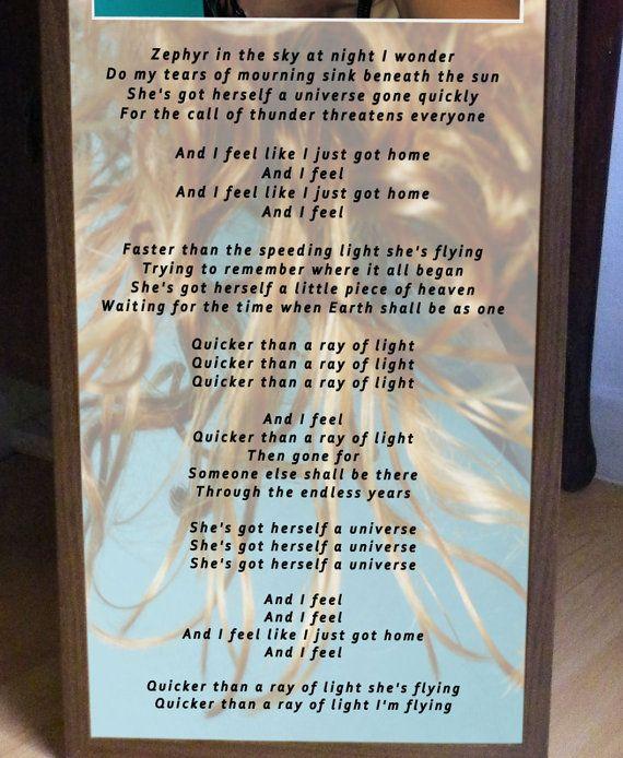madonna of light promo poster lyric sheetlike a by