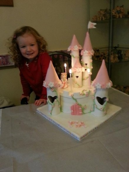 grand daughters 3rd birthday cake  Cake by catkins