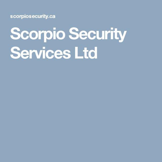 Scorpio Security Services Ltd