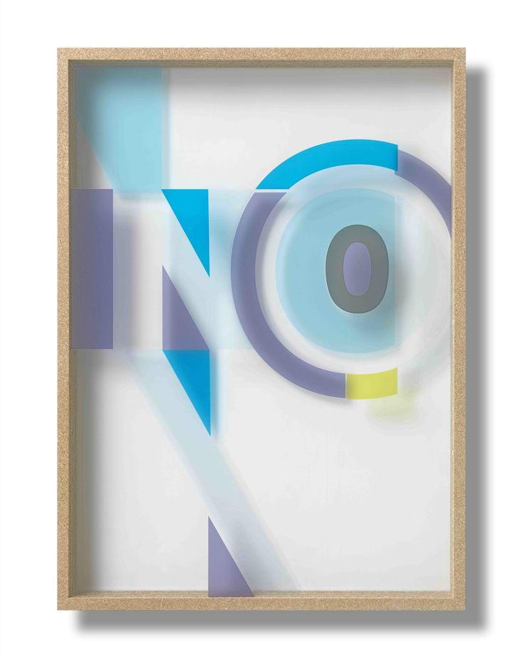 """no"" by tobias rehberger"