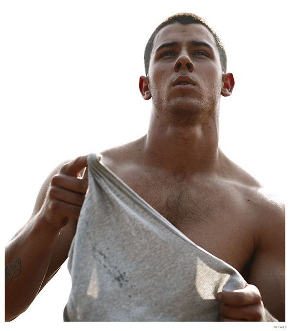 Nick Jonas Poses for Details November 2014 Photo Shoot: Talks Kingdom Workout image Nick Jonas Details November 2014 Photo Shoot 003