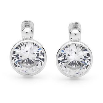 Big show Cubic Zirconia earrings - BEE-35018-CZ