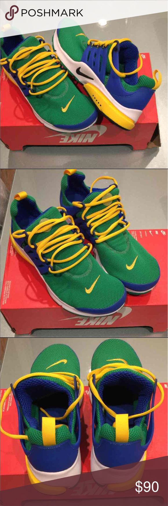 Home nike wmns air presto flyknit ultra midnight turquoise olive - Nike Air Presto Essential Shoes Sz 12 Brand New In Box But No Lid